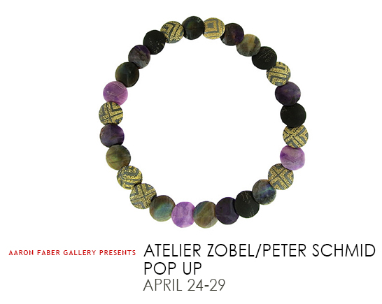 Peter Schmid Pop Up (April 24-29)