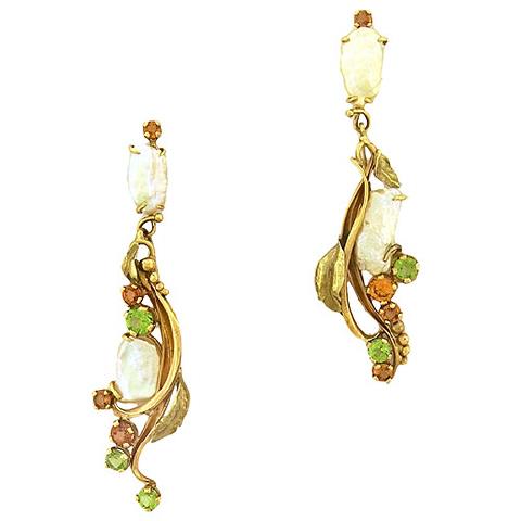 Angela Conty Gem Earrings