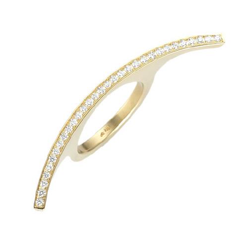 Diamond Arch Ring