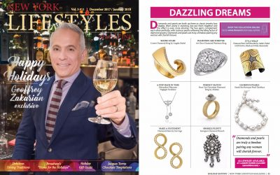 AARON FABER GALLERY FEATURED IN NEW YORK LIFESTYLES MAGAZINE