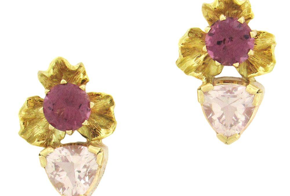 Angela Conty: Tourmaline Gemstone Earrings