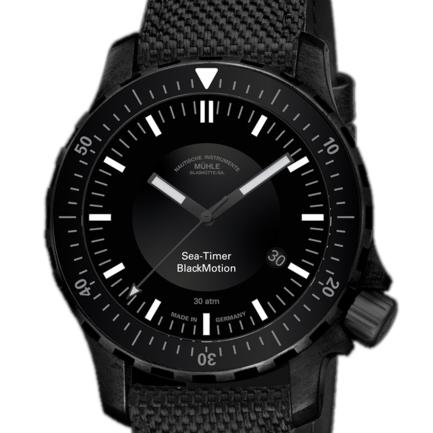 Muhle Sea-Timer Black Motion Automatic