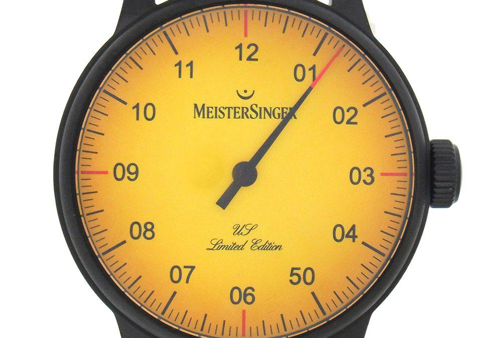 Black US Edition Meistersinger Automatic