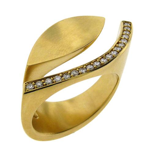 Angela Hubel: Diamond Eye Ring