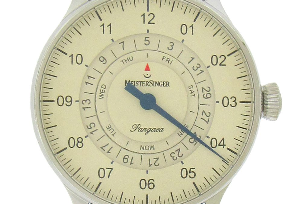 Stainless Steel Meistersinger Day Date Automatic