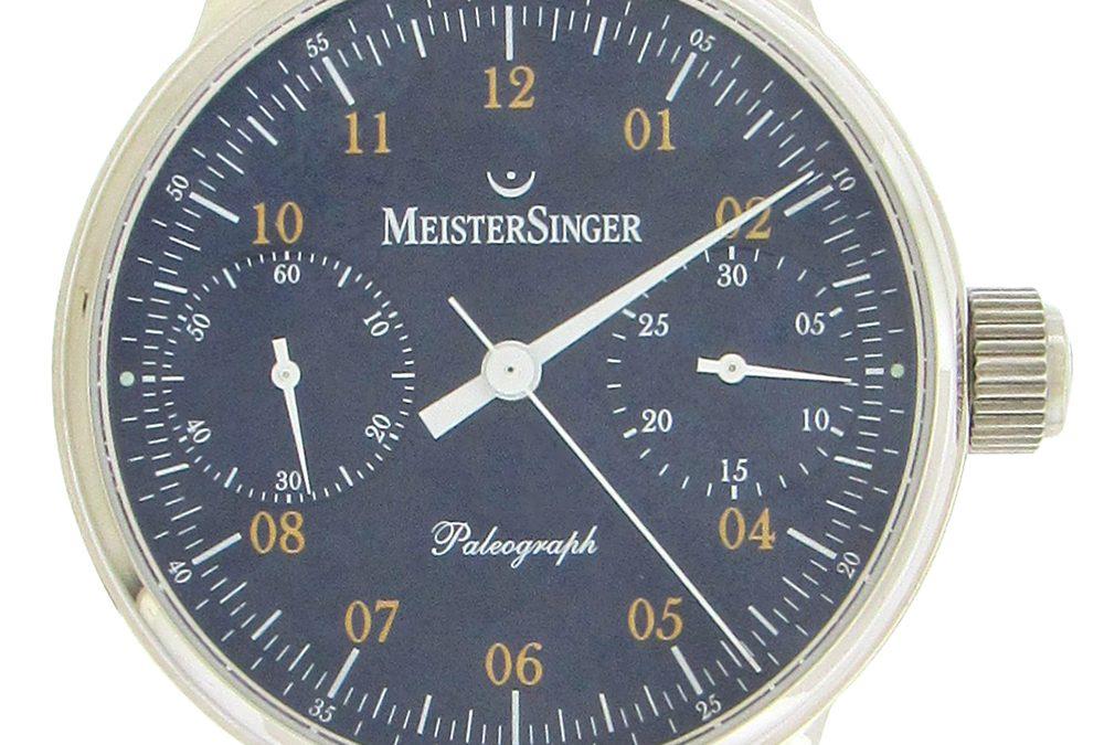 Meistersinger Paleograph Chronograph