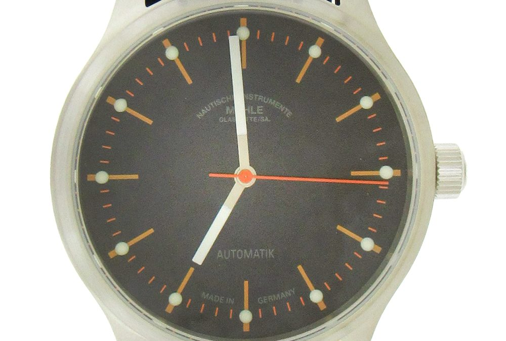 Stainless Steel Muhle Panova Blue Automatic