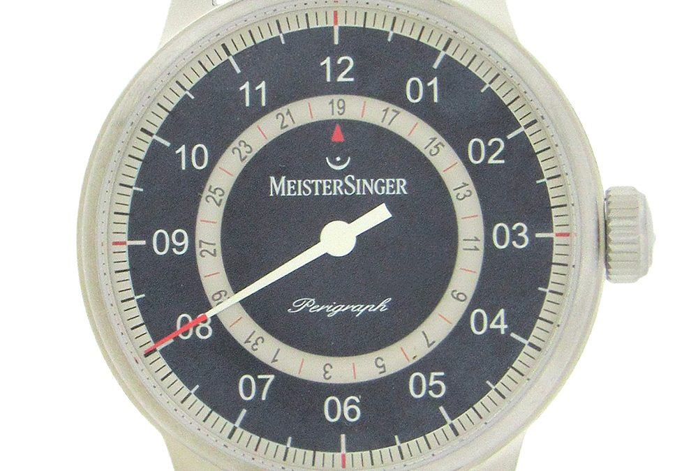 Stainless Steel Meistersinger Perigraph Date Automatic
