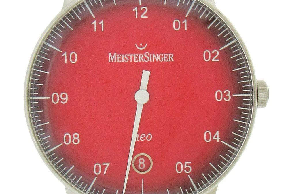 Stainless Steel Meistersinger Neo Automatic Wristwatch
